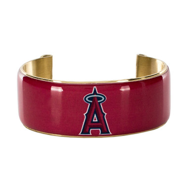 Rustic Cuff Los Angeles Angels Art Deco Women's Large Cuff