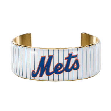 Rustic Cuff New York Mets Art Deco Women's Large Cuff