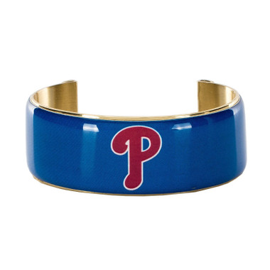 Rustic Cuff Philadelphia Phillies Art Deco Women's Large Cuff