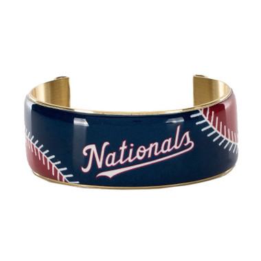 Rustic Cuff Washington Nationals Art Deco Women's Large Cuff
