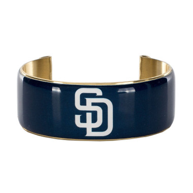 Rustic Cuff San Diego Padres Art Deco Women's Large Cuff