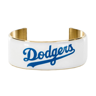 Rustic Cuff Los Angeles Dodgers Art Deco Women's Large Cuff