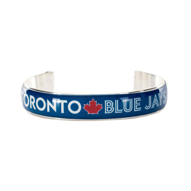 Rustic Cuff Toronto Blue Jays Art Deco Women's Small Cuff