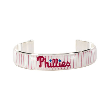 Rustic Cuff Philadelphia Phillies Art Deco Women's Small Cuff