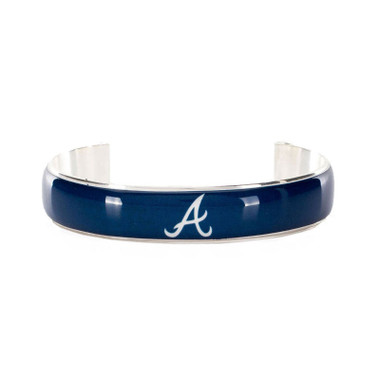 Rustic Cuff Atlanta Braves Art Deco Women's Small Cuff