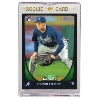 Freddie Freeman Atlanta Braves 2011 Bowman Chrome # 185 Rookie Card