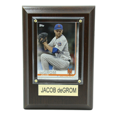 "Jacob DeGrom New York Mets 4"" x 6"" Baseball Card Plaque"