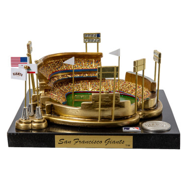 Candlestick Park Westbrook Sports Classics Cast Bronze Replica with Marble Base and Acrylic Display Case