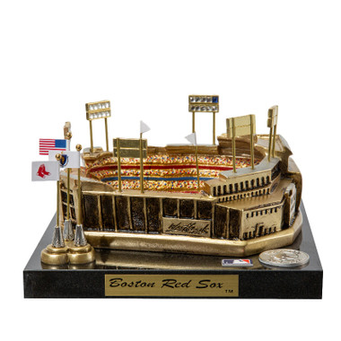 Fenway Park Westbrook Sports Classics Cast Bronze Replica with Marble Base and Acrylic Display Case