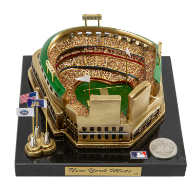 Citi Field Westbrook Sports Classics Cast Bronze Replica with Marble Base and Acrylic Display Case