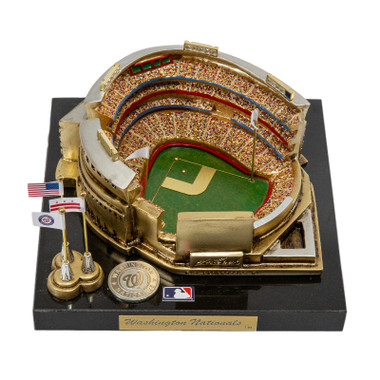 Nationals Park Westbrook Sports Classics Cast Bronze Replica with Marble Base and Acrylic Display Case