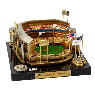 PNC Park Westbrook Sports Classics Cast Bronze Replica with Marble Base and Acrylic Display Case