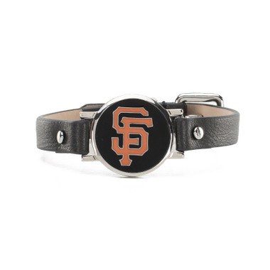 "Rustic Cuff San Francisco Giants Leather Women's ""Betsy"" Bracelet"