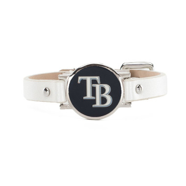 "Rustic Cuff Tampa Bay Rays Leather Women's ""Betsy"" Bracelet"