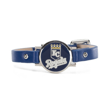 "Rustic Cuff Kansas City Royals Leather Women's ""Betsy"" Bracelet"