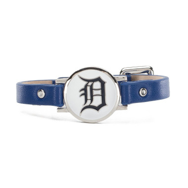 "Rustic Cuff Detroit Tigers Leather Women's ""Betsy"" Bracelet"