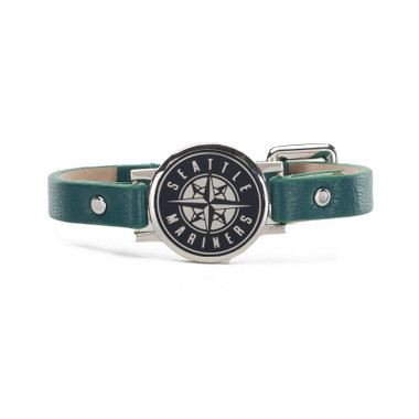 "Rustic Cuff Seattle Mariners Leather Women's ""Betsy"" Bracelet"