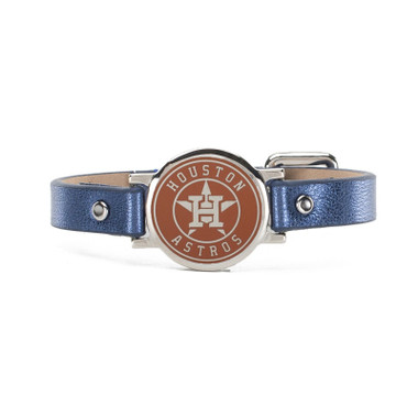 "Rustic Cuff Houston Astros Leather Women's ""Betsy"" Bracelet"