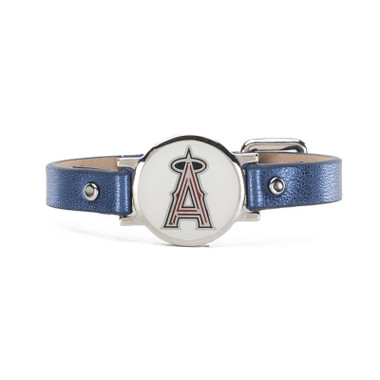 "Rustic Cuff Los Angeles Angels Leather Women's ""Betsy"" Bracelet"