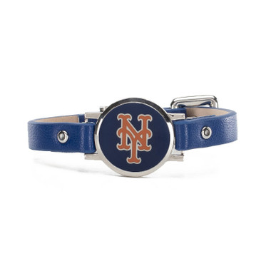 "Rustic Cuff New York Mets Leather Women's ""Betsy"" Bracelet"