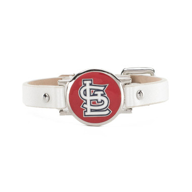 "Rustic Cuff St. Louis Cardinals Leather Women's ""Betsy"" Bracelet"