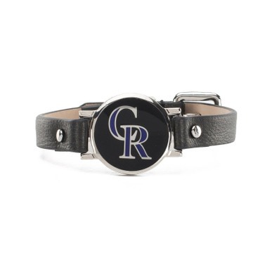 "Rustic Cuff Colorado Rockies Leather Women's ""Betsy"" Bracelet"