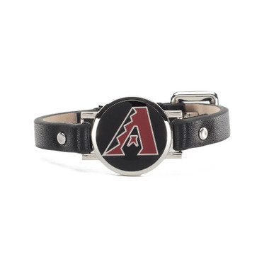 "Rustic Cuff Arizona Diamondbacks Leather Women's ""Betsy"" Bracelet"