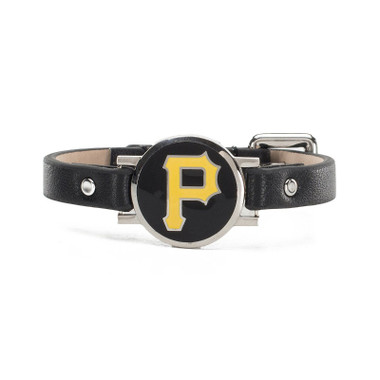 "Rustic Cuff Pittsburgh Pirates Leather Women's ""Betsy"" Bracelet"
