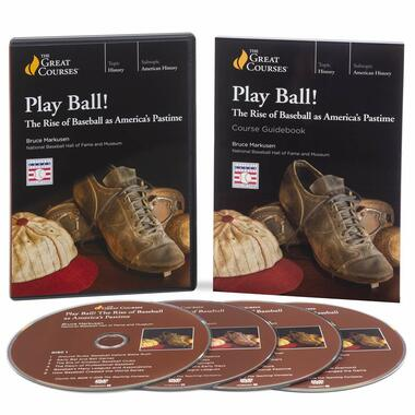 Play Ball! The Rise of Baseball as America's Pastime DVD Set (Great Courses)