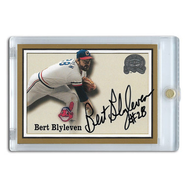 Bert Blyleven Autographed Card 2000 Fleer Greats of the Game