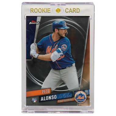 Pete Alonso New York Mets 2019 Topps Finest # 44 Rookie Card