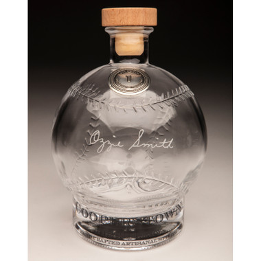 Ozzie Smith Cooperstown Distillery Hall of Fame Signature Series Baseball Decanter