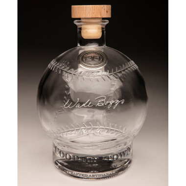 Wade Boggs Cooperstown Distillery Hall of Fame Signature Series Baseball Decanter