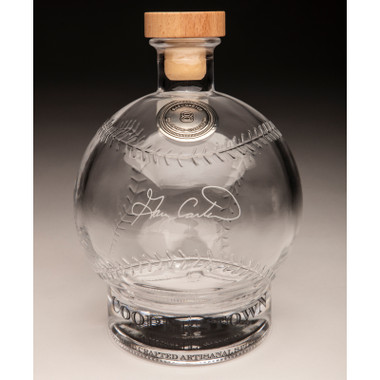 Gary Carter Cooperstown Distillery Hall of Fame Signature Series Baseball Decanter