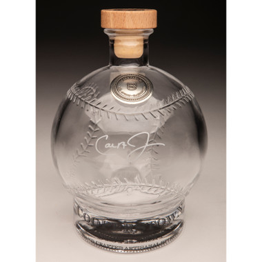Cal Ripken Jr. Cooperstown Distillery Hall of Fame Signature Series Baseball Decanter