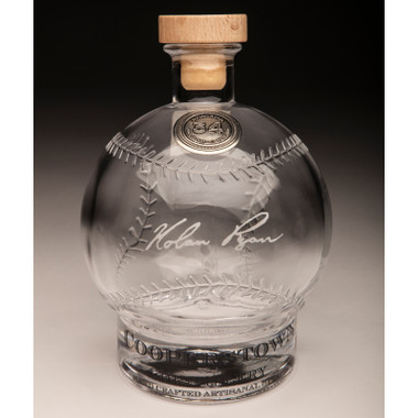 Nolan Ryan Cooperstown Distillery Hall of Fame Signature Series Baseball Decanter