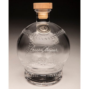 Tom Seaver Cooperstown Distillery Hall of Fame Signature Series Baseball Decanter