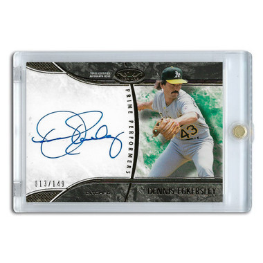 Dennis Eckersley Autographed Card 2016 Topps Tier One Prime Performers Ltd Ed of 149