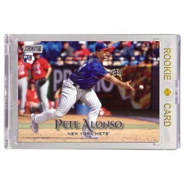 Pete Alonso New York Mets 2019 Stadium Club # 272 Rookie Card