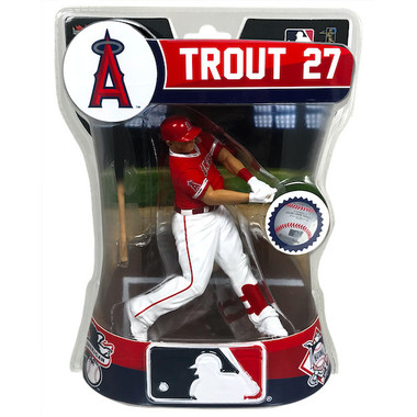 "Mike Trout Los Angeles Angels Imports Dragon 6"" Figure"