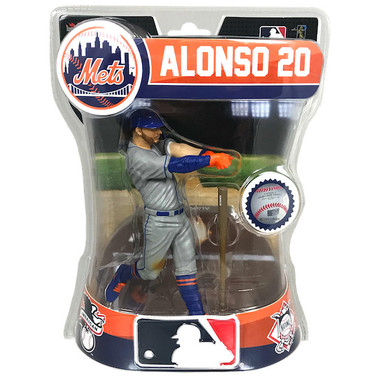 "Pete Alonso New York Mets Imports Dragon 6"" Figure"