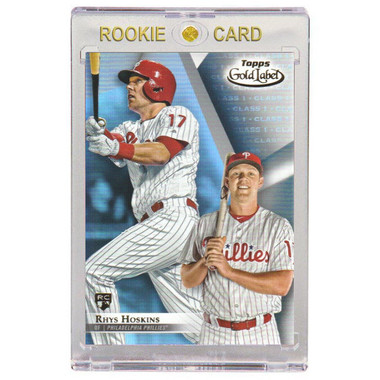 Rhys Hoskins Philadelphia Phillies 2018 Topps Gold Label # 78 Rookie Card