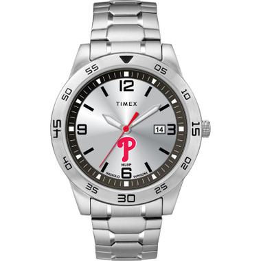 Timex Men's Philadelphia Phillies Citation Watch