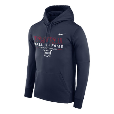 Men's Nike Baseball Hall of Fame Navy Therma-FIT PO Hoody