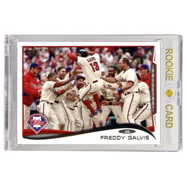 Freddy Galvis Philadelphia Phillies 2014 Topps # 637 Rookie Card