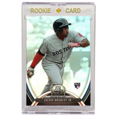 Jackie Bradley Jr. Boston Red Sox 2013 Bowman Platinum # 89 Rookie Card
