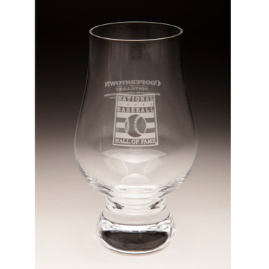 Hall of Fame Cooperstown Distillery 5 ounce Glencairn Glass