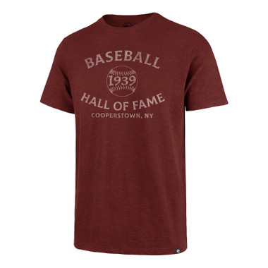 Men's '47 Brand Baseball Hall of Fame 1939 Arc Cardinal Scrum T-Shirt