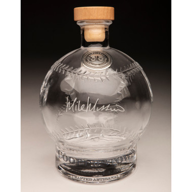 Mike Mussina Cooperstown Distillery Hall of Fame Signature Series Baseball Decanter