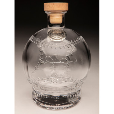 Mariano Rivera Cooperstown Distillery Hall of Fame Signature Series Baseball Decanter
